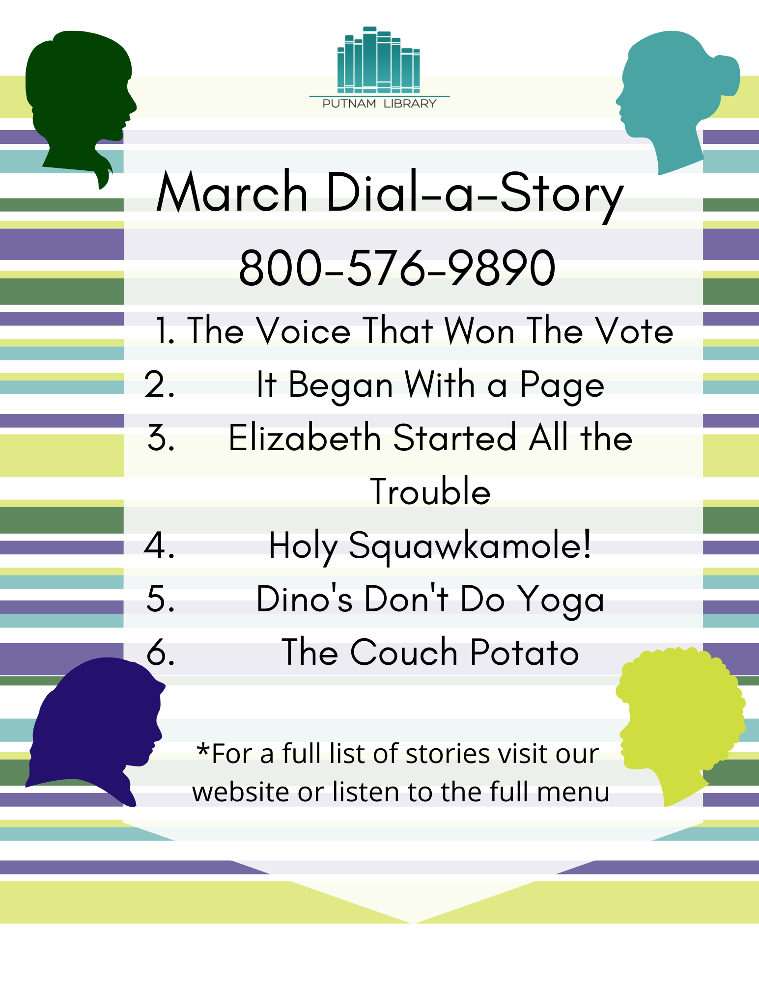 March Dial-a-Story