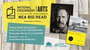 Virtual Book Club with Ron Rash