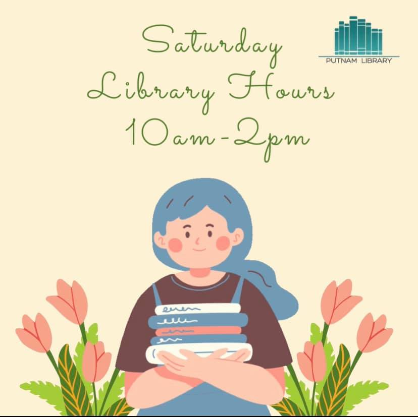Saturday Hours 10am-2pm